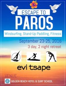 Paros Active Escape