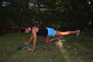 Resisted glute extension 2