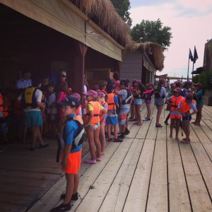 Getting organised with lifejackets