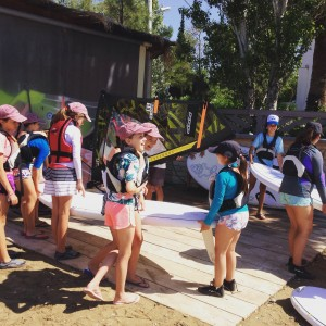 Getting ready to hit the water!